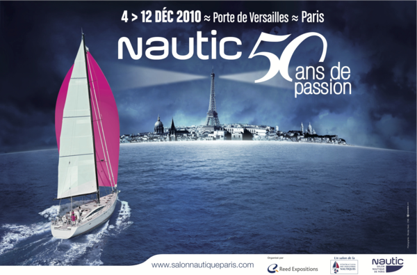 Nautic de paris 2010 les 50 ans du salon nautique for Salon nautisme paris